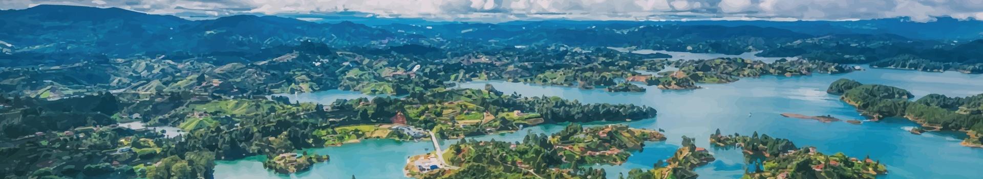 Kitesurfing in Colombia