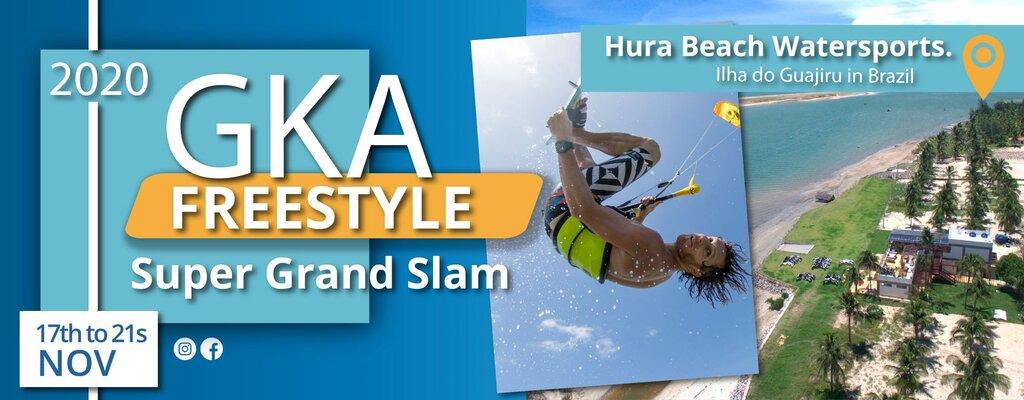 gka grand slam kitesurf competition