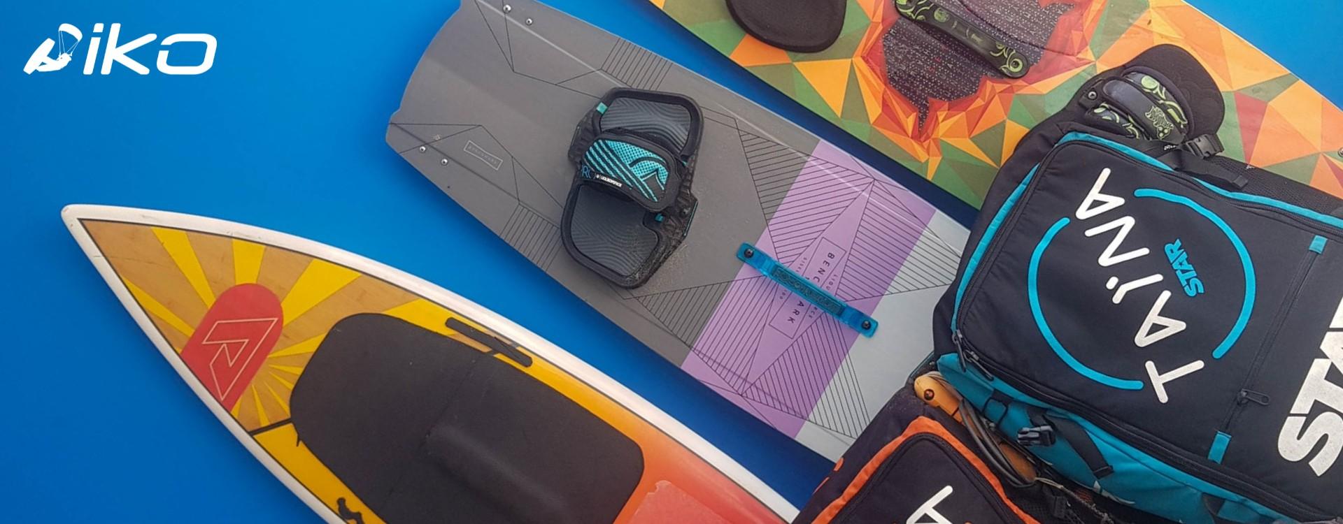Kitesurf-Ausrüstung