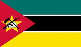 Kite in Mozambique