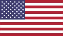 american flag kiteboarding usa