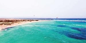 Kitesurfing in Boca Grandi