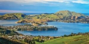Kitesurfing in Dunedin