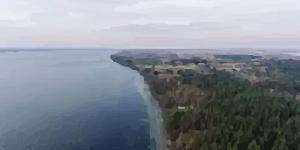 Kitesurfing in Dusia Lake (Traktorius)