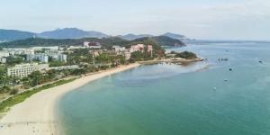 Kitesurfing in Hai Yun Tai Beach