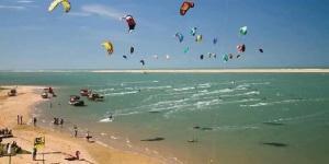 Kitesurfing in Itarema