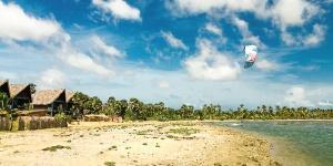 Kitesurfing in Kalpitiya