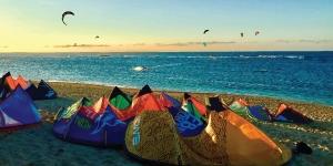 Kitesurfing in Kingfisher (Ilocos Norte)