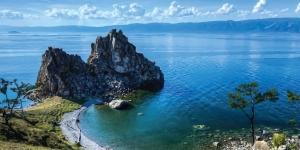 Kitesurfing in Lake Baikal