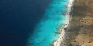 Kitesurfing in Little Bonaire