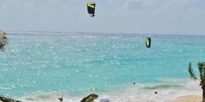 Kite in Long Beach Barbados