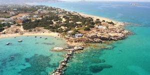 Kitesurfing in Naxos