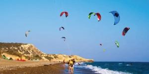Kitesurfing in Paramali Akrotiri