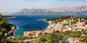 Kitesurfing in Povlja