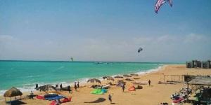 Kitesurfing in Ras Sudr