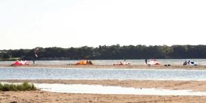 Kitesurfing in Stroomi Harjumaa