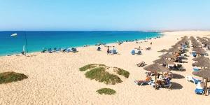 Kite in The Beach by the Riu hotel - Cape Verde