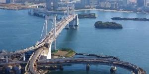 Kite in Tokyo Bay - Japan