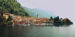 Kitesurfing in Lake Como